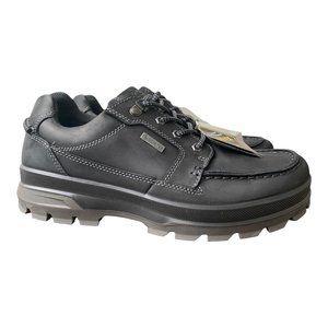 Ecco New Men's Rugged Track GTX Moc Tie Shoe Black size 44
